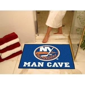 """NHL - New York Islanders Man Cave All-Star Mat 33.75""""x42.5"""""""