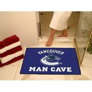 "NHL - Vancouver Canucks Man Cave All-Star Mat 33.75""x42.5"""