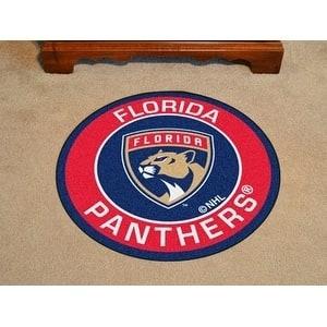 "NHL - Florida Panthers Roundel Mat 27"" diameter"
