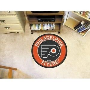 """NHL - Philadelphia Flyers Roundel Mat 27"""" diameter"""