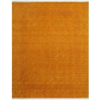 Herat Oriental Indo Hand-loom Gabbeh Wool Rug (8' x 10')