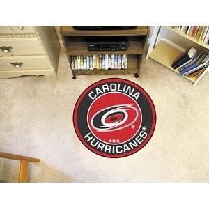 "NHL - Carolina Hurricanes Roundel Mat 27"" diameter"