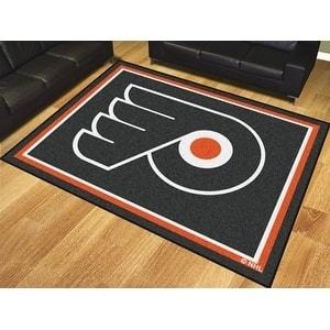 NHL - Philadelphia Flyers 8'x10' Rug
