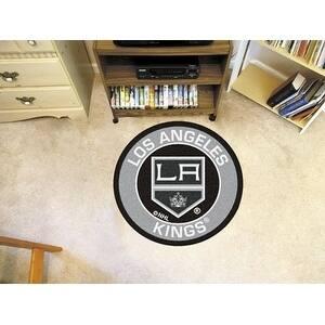 "NHL - Los Angeles Kings Roundel Mat 27"" diameter"