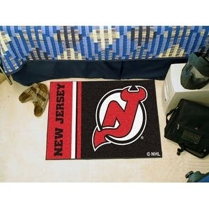 "New Jersey Devils Uniform Starter Rug 19""x30"""