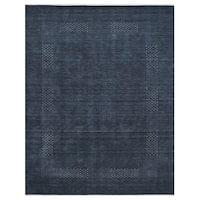 Handmade Herat Oriental Indo Gabbeh Wool Rug (India) - 8' x 10'