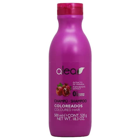 Alea 16.9-ounce Colored Hair Shampoo with Pomegranate Extract - Purple
