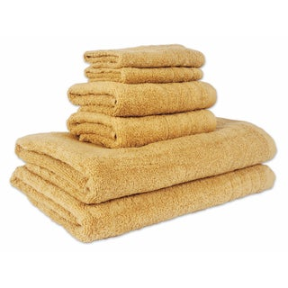 Aire Lite Lux 6-Piece Towel Set (2-Bath, 2-Hand, 2-Wash)