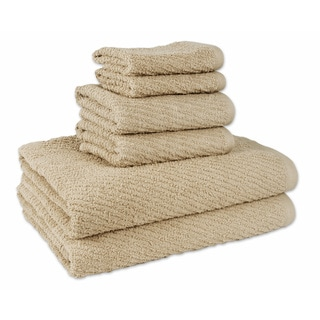 Flash Dry 6-Piece Bath Towel Set (2-Bath, 2-Hand, 2-Wash)