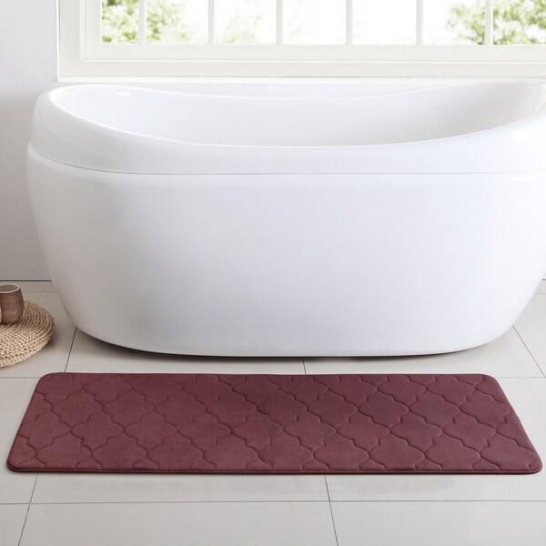 VCNY Home Amadora 24x60 Memory Foam Bath Runner