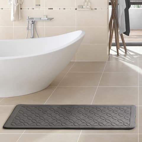 VCNY Home Chanel 24x60 Memory Foam Bath Runner