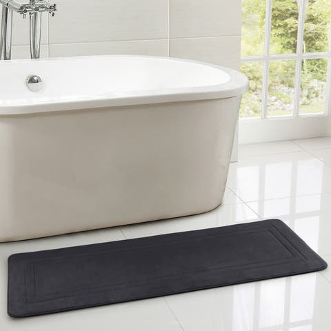 VCNY Home Verona 24x60 Memory Foam Bath Runner