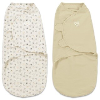 Summer Infant Baby Bees Large SwaddleMe Original Organic (Pack of 2)