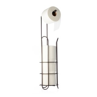 Ybmhome Free Standing Toilet Paper Roll Holder Stand