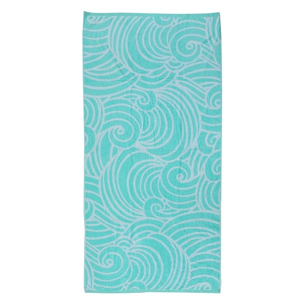 Siesta 40-inch x 70-inch Velour Beach Towel