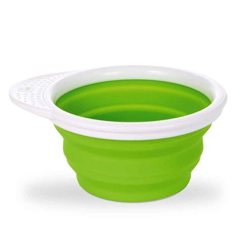 Munchkin Green Go Bowl Silicone Feeding Bowl