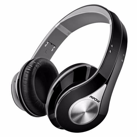 Mpow On-Ear Bluetooth Headphones with High Fidelity Stereo Sound and Incredible Long Playing Time