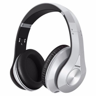 Mpow On-Ear Bluetooth Headphones with High Fidelity Stereo Sound and Incredible Long Playing Time (Option: Silver)