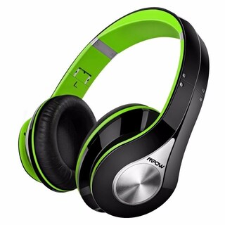 Mpow On-Ear Bluetooth Headphones with High Fidelity Stereo Sound and Incredible Long Playing Time (Option: Green)