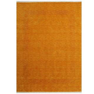 Link to Handmade Gabbeh Wool Rug (India) - 3' x 5' Similar Items in Rugs