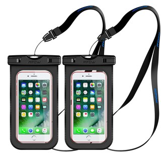 Mpow Waterproof Case Compatible with iPhone 7 /7 Plus Home Button for iPhone, Google Pixel, HTC, LG, Huawei, Sony (2-Pack)