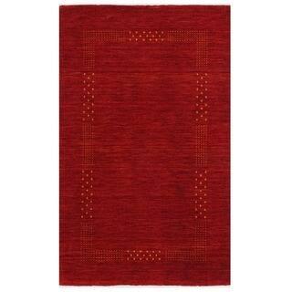 Herat Oriental Indo Hand-loom Gabbeh Wool Rug (3' x 5')|https://ak1.ostkcdn.com/images/products/16394578/P22744767.jpg?impolicy=medium
