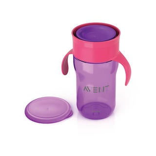 Philips Avent Purple 12-ounce My Natural Drinking Cup