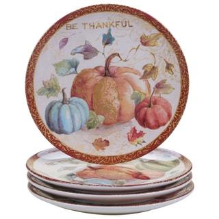 Certified International My Fall Inspiration Dessert Plate (Set of 4)