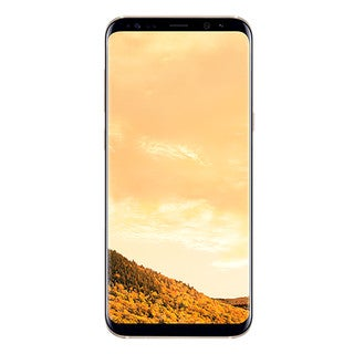 Samsung Galaxy S8+ G955F 64GB Unlocked GSM Phone w/ 12MP Camera - Maple Gold