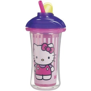 Munchkin Purple 9-ounce Hello Kitty Click Lock Insulated Straw Cup
