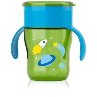 Philips Avent Green Rocketship 9-ounce My Natural Drinking Cup