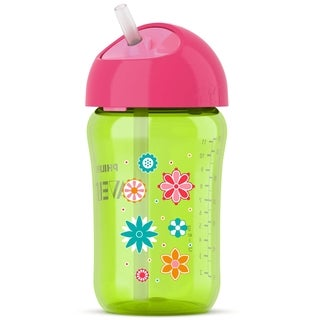 Philips Avent Green 12-ounce Twist N Sip Straw Cup
