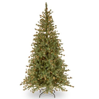 National Tree Company 7.5-foot Shenandoah Blue Pine Tree with Clear Lights