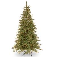 National Tree Company 7.5-foot Shenandoah Blue Pine Tree with Clear Lights