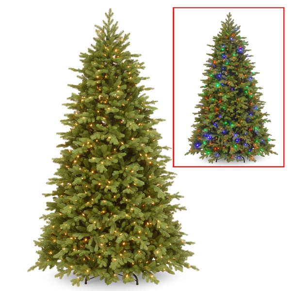 12 Ft Pre Lit Christmas Tree Costco: Shop National Tree Company PowerConnect(TM) 7.5-foot