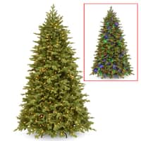 National Tree Company PowerConnect(TM) 7.5-foot Princeton Fraser Fir with Dual Color LED Lights
