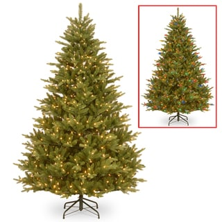 National Tree Company 7.5-foot PowerConnect(TM) Bloomfield Fir with Dual Color LED Lights