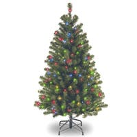 4.5 ft. North Valley Spruce Tree with Multicolor Lights