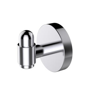 Eviva Bullet Towel or Robe Hook Round Design (Chrome) Bathroom Accessories