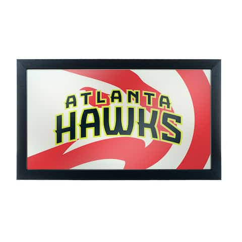 NBA Framed Logo Mirror - Fade