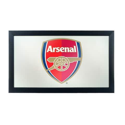 Premier League Framed Logo Mirror - Arsenal - Blue/Gold/Red - A/N