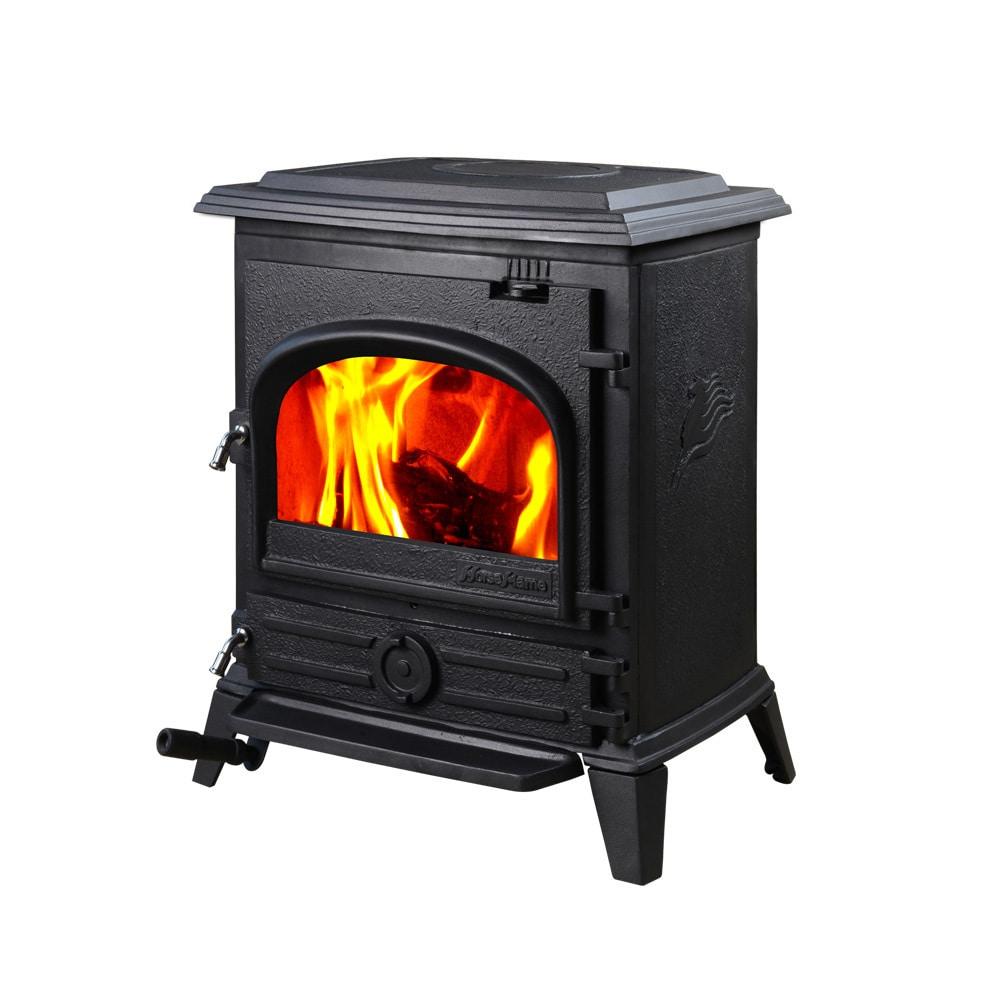 Shop Hiflame Pony Hf517u Black Cast Iron Epa Approved Freestanding