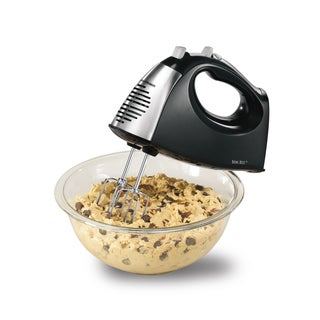 Hamilton Beach Black 6 Speed Hand Mixer with QuickBurst