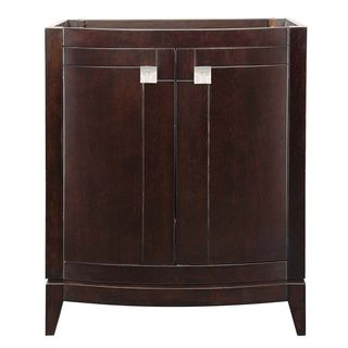 Decolav Gavin Collection Espresso Wood Vanity without Countertop