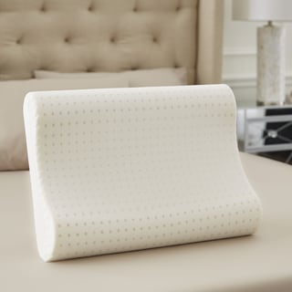 TruPedic USA Memory Foam Contour Pillow with Soft Touch Mesh Cover (1 or 2-pack)