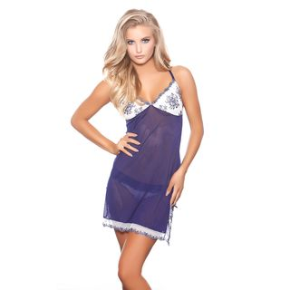 Popsi Lingerie In Your Dreams Blue Chemise