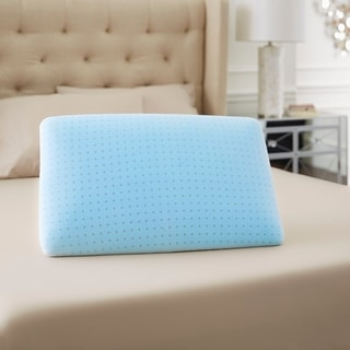 TruPedic USA TruGEL Memory Foam Pillow with Soft Touch Mesh Cover (1 or 2-pack)