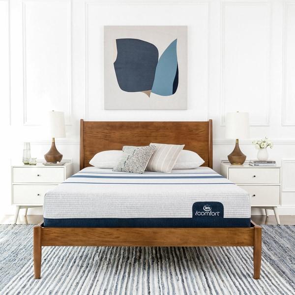 Shop Serta Icomfort Blue 300 11 Inch Twin Xl Size