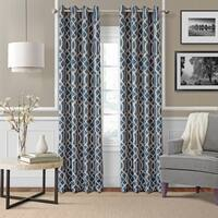 Elrene Harper Room Darkening Grommet Curtain Panel