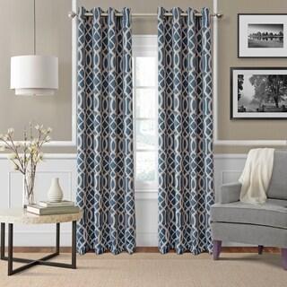 Elrene Harper Room Darkening Grommet Curtain Panel